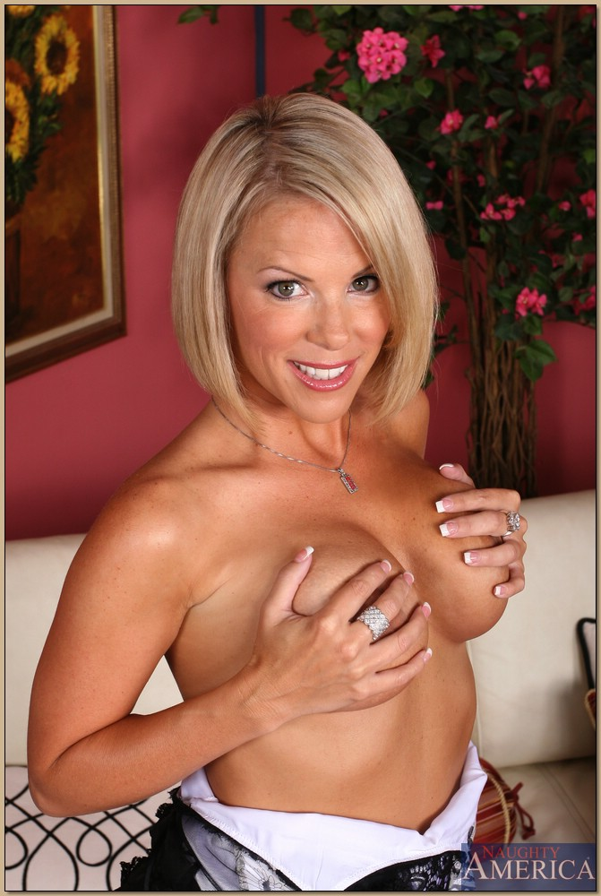 Beautiful milf with big tits