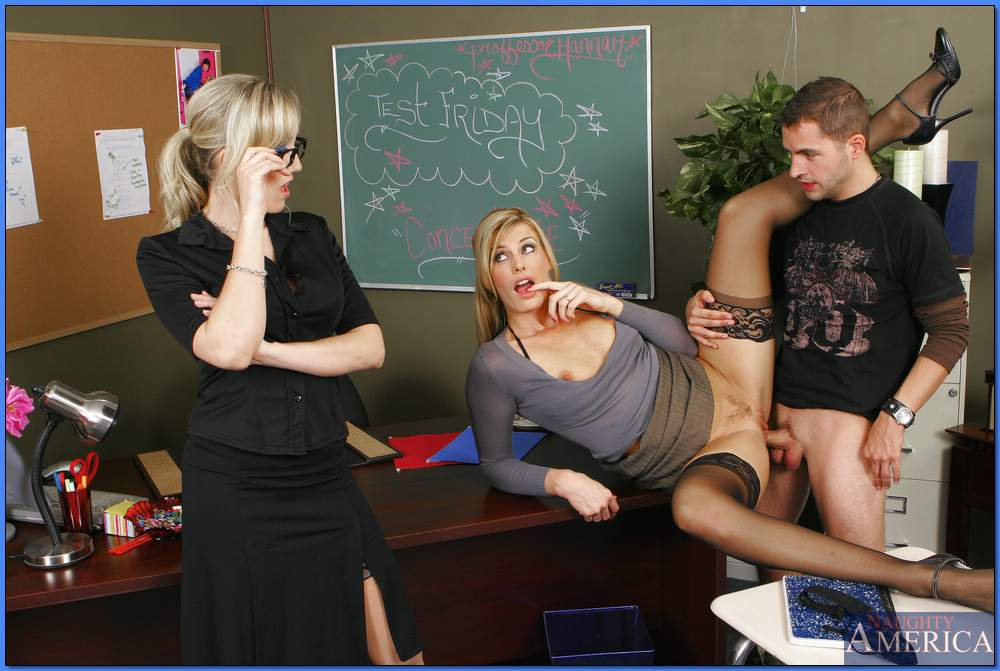 Young Teacher Fucks Student