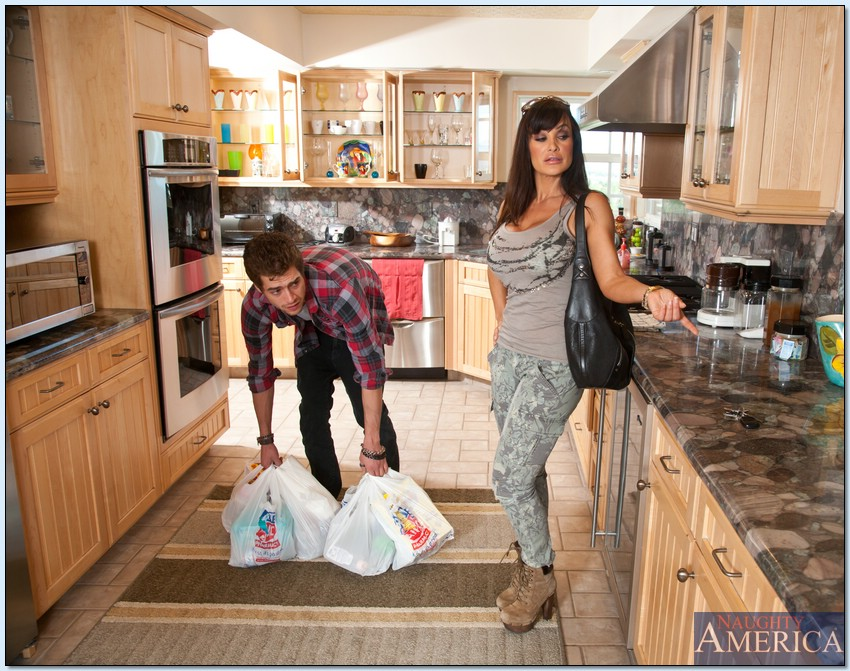 Lisa ann kitchen sex