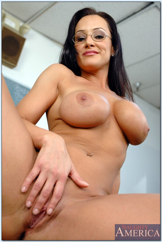 Naked Lisa Ann Hot Teacher