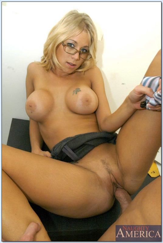... Extremely hot office babe in glasses Katie Morgan fucked hardcore ...