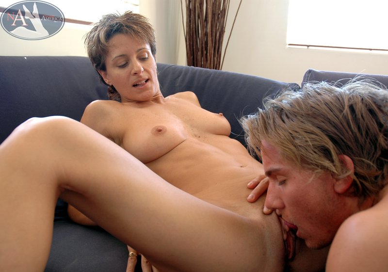 Mature pussy and huge cocks