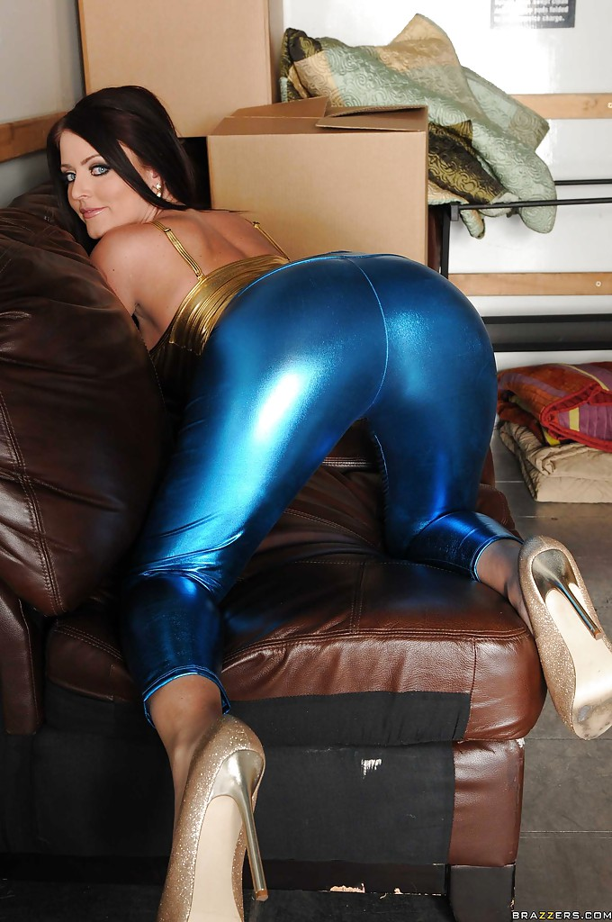 Pants ass latex big black