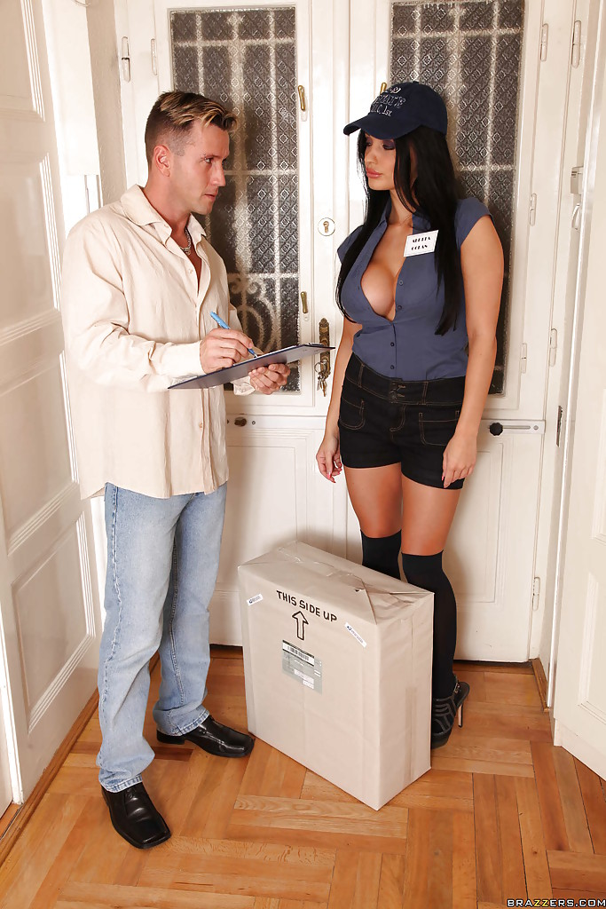 Delivery Girl Anal