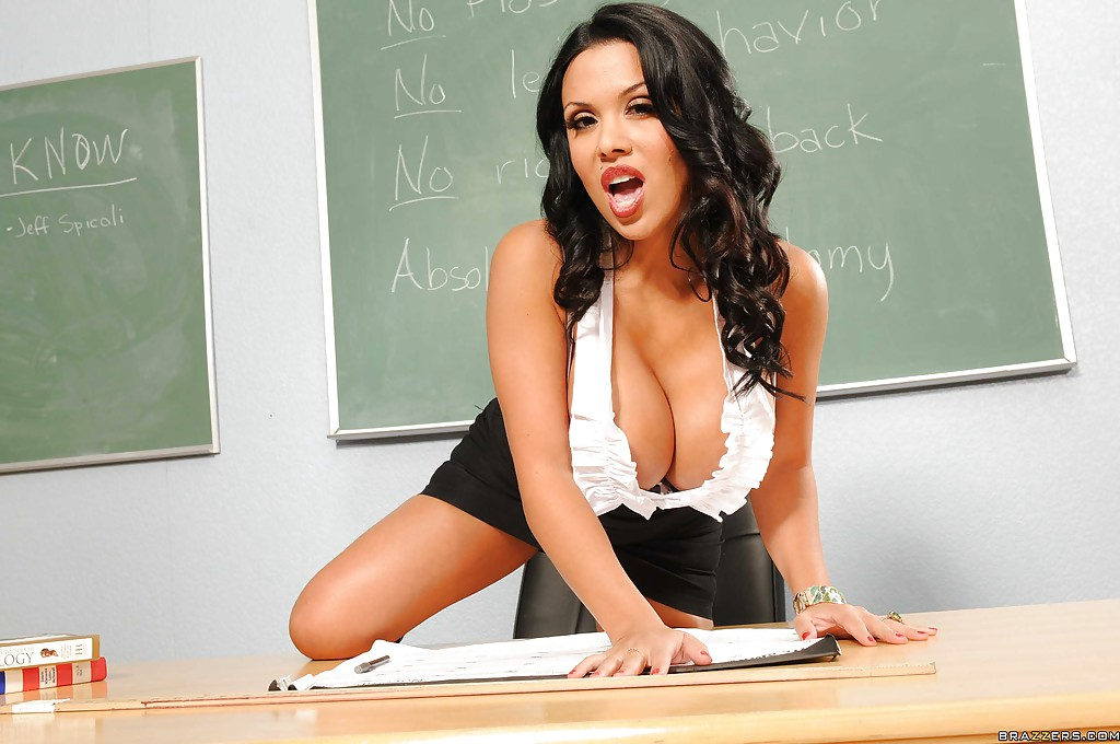 Teacher boob sexy big