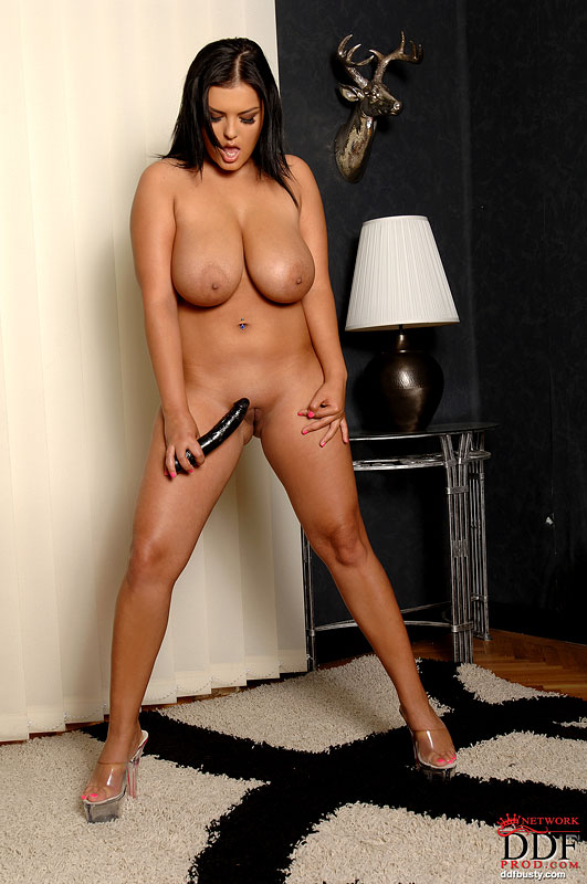 hot nude massive dildo