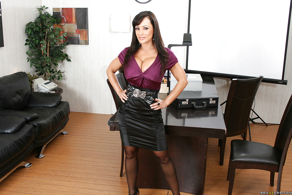 Sorry, that Big tits at work lisa ann