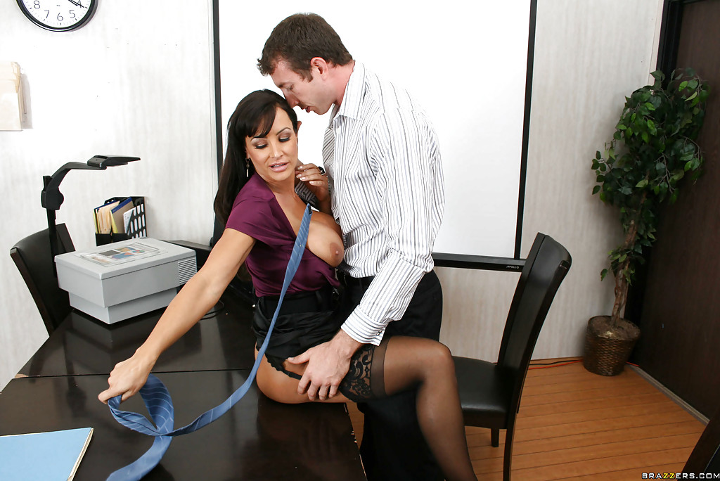 Valuable Big tits at work lisa ann sorry