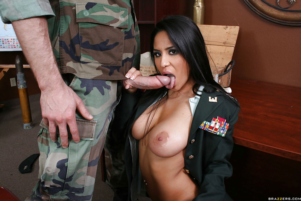 Hot horny women in uniform