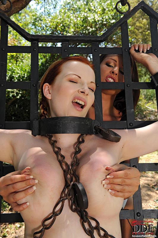 Really big boob bondage question interesting