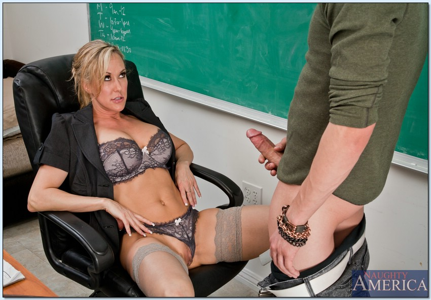 ... Sexy MILF teacher Brandi Love fucked by her well hung student ...