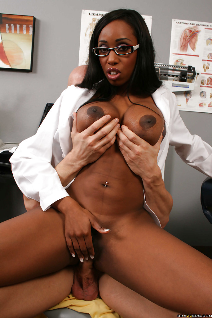 Brazzers hot ebony patient leilani leeane fucks her doctor - 2 part 8