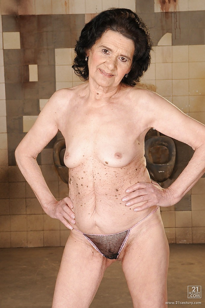 Overly mature naked grannies