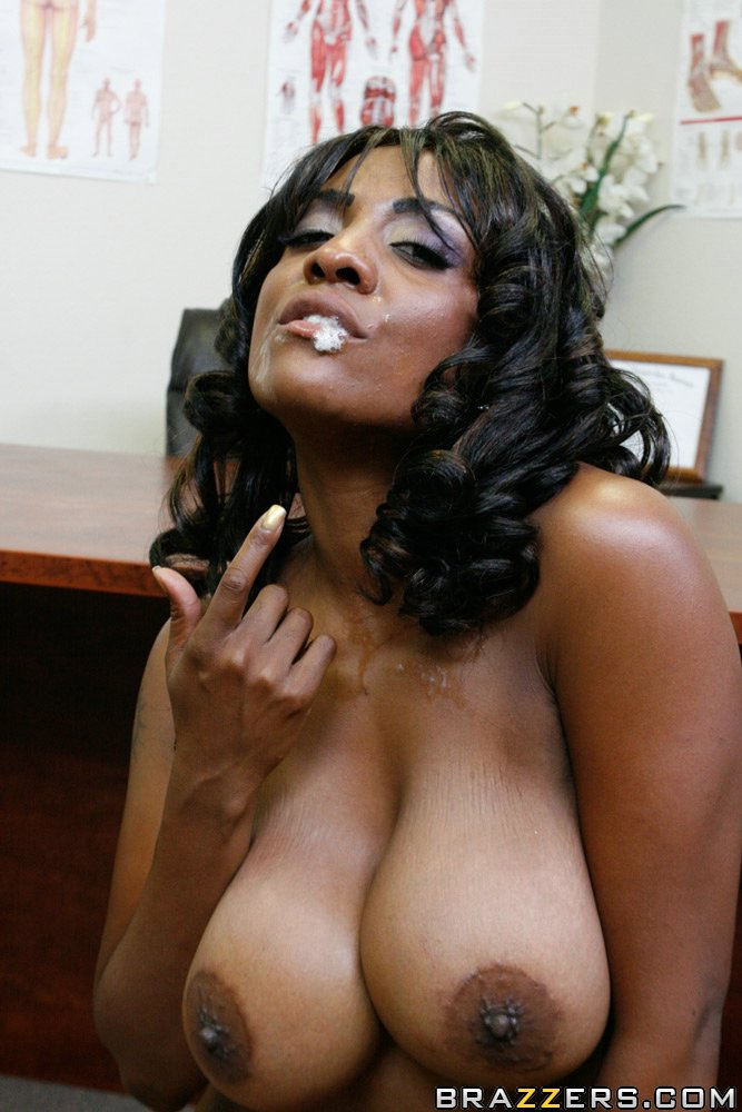 Ebony babe cocoa chanel sucking 3