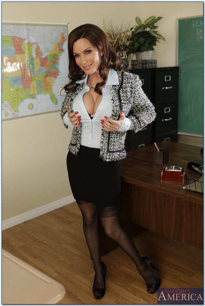 Sex diamond first foxx teacher my