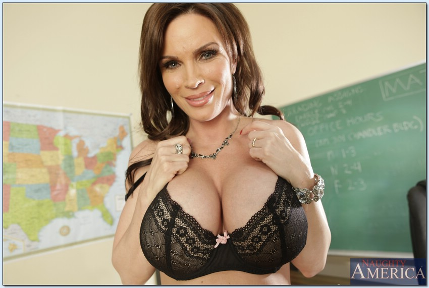 Sexy teachers big boobs