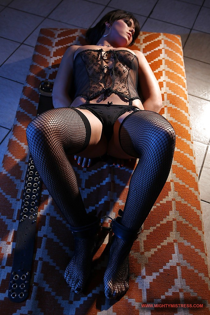 ... BDSM mistress is into humiliation and toying her sexy slave babe ...