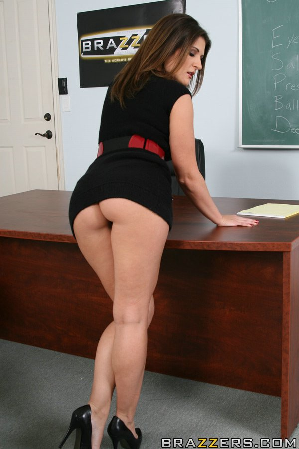 Teacher milf ass