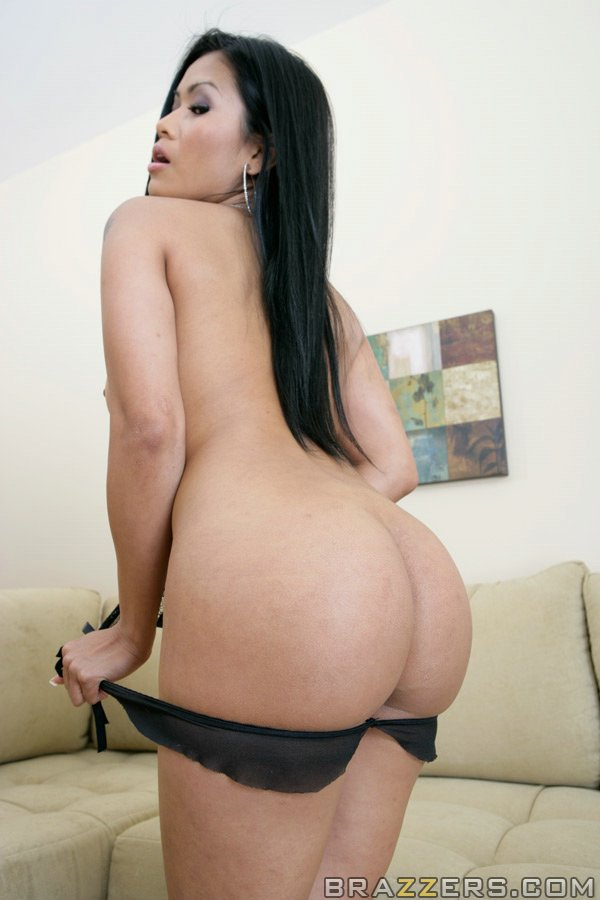 Sexy asian big butt