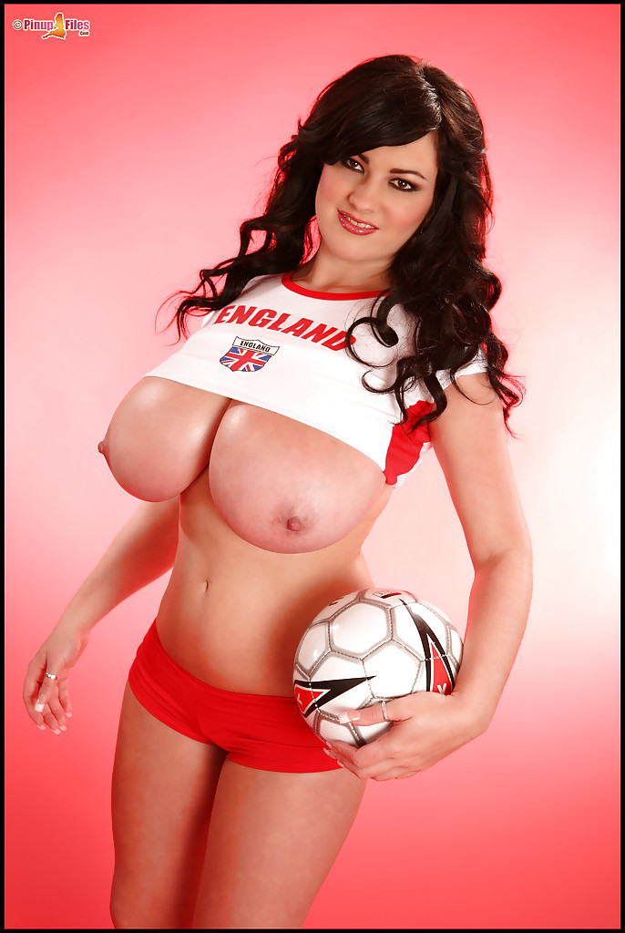 Big boobs soccer
