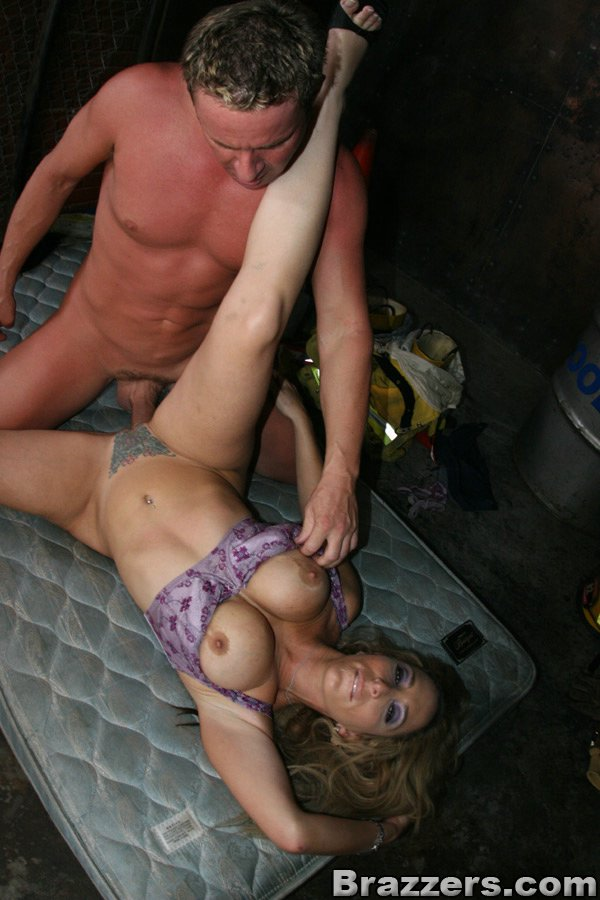 ... Big titted MILF Savannah Jane rescued and fucked by a horny fireman ...