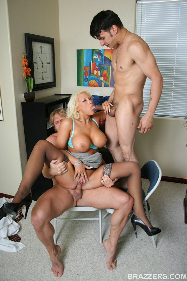 Milf and boy nude