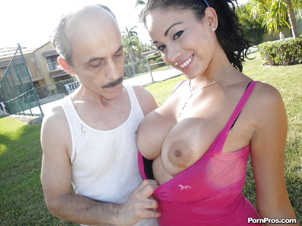 Guy Old man fuck big tits