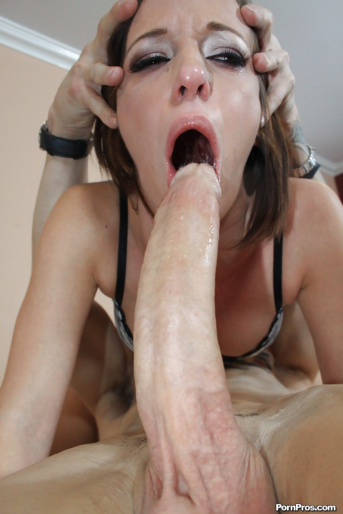 Extreme deepthroat monster cocksucking