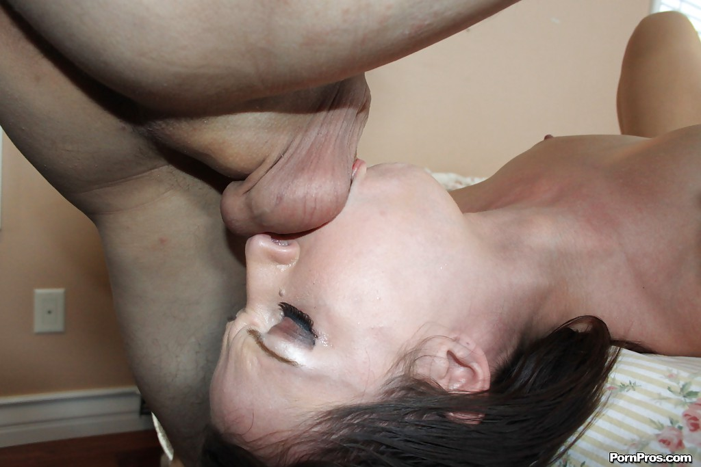 Deep Throat Gagging and Anal Fucking -