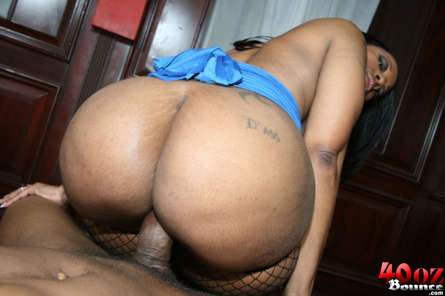 Big Ass Ebony Rides Dick