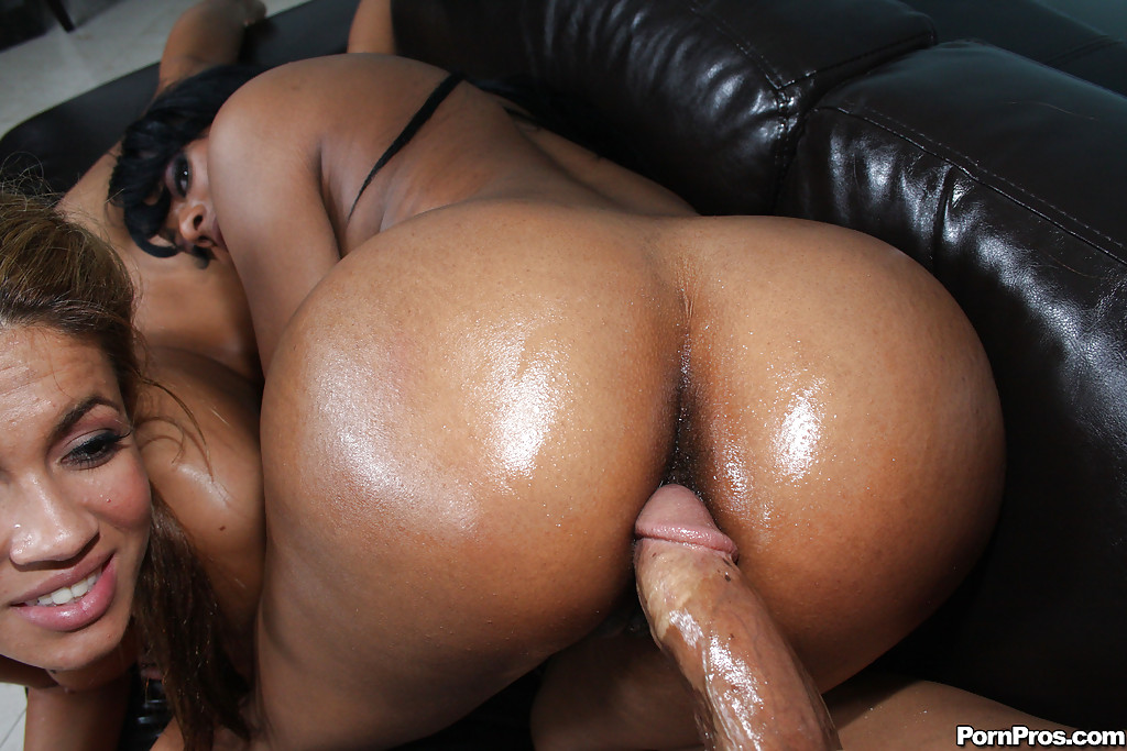 Ebony ass orgy