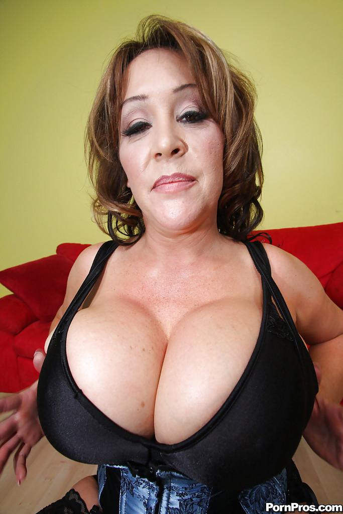 Big boobs busty mom