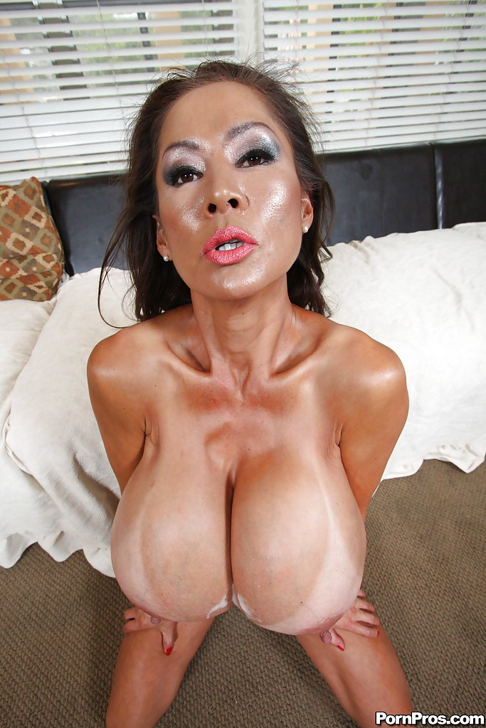 Big boobs of crazy asian