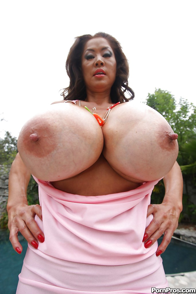 Mature Asian Big Boobs