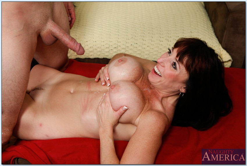 Slutty mom with huge juggs Karen Kougar fucking after a deepthroat bj