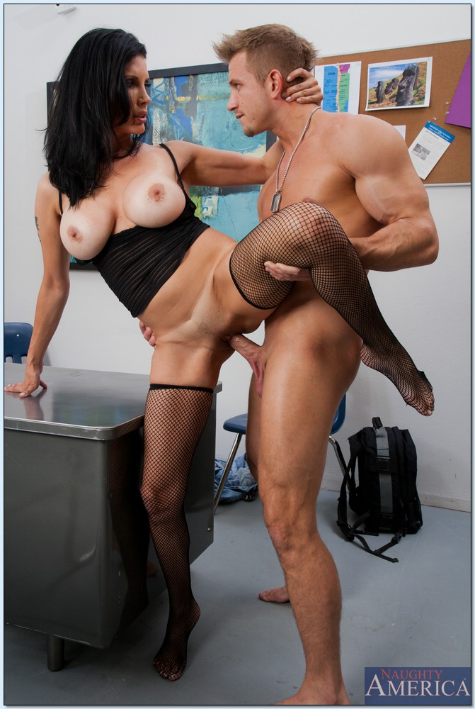 Big Tit Milf Teaches Boy