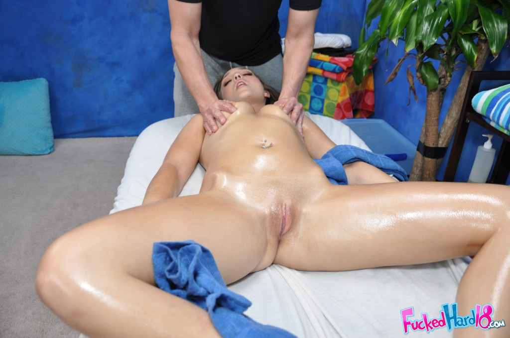 Amateur nude massage video