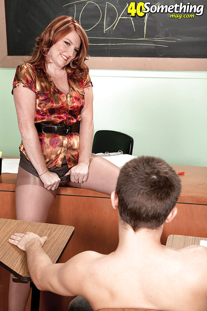 Plump school teacher fucked by her hung student - 2 part 2