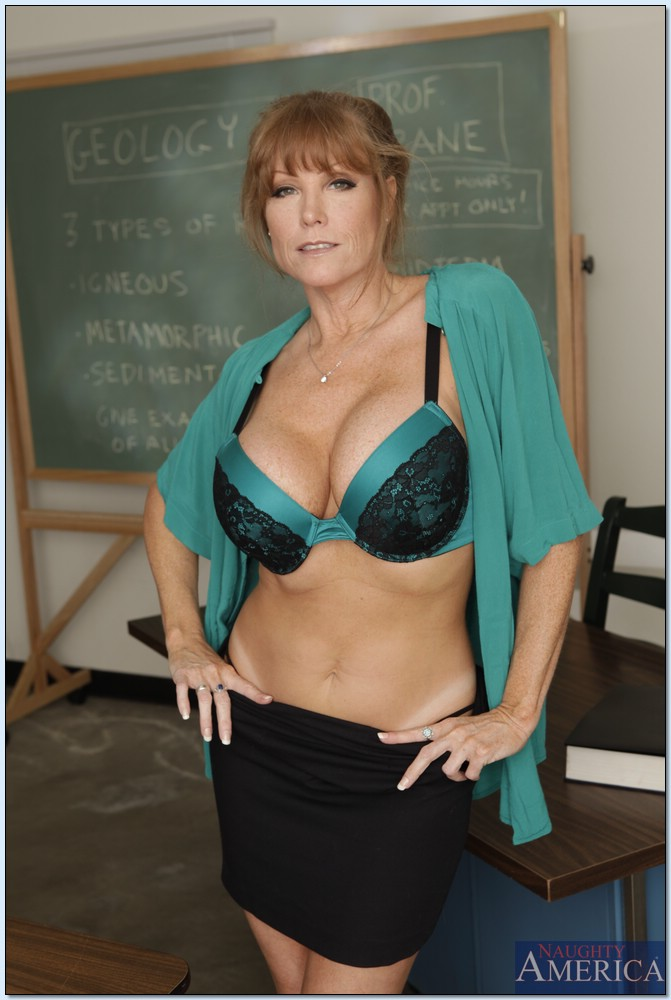 Teacher shows tits nice