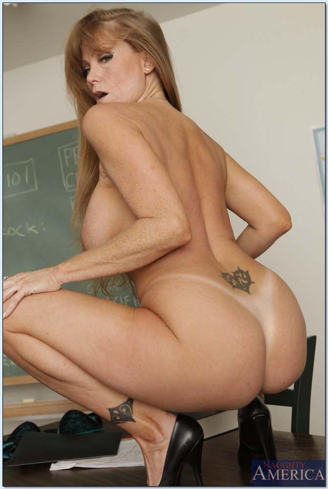 Hot teacher with big ass