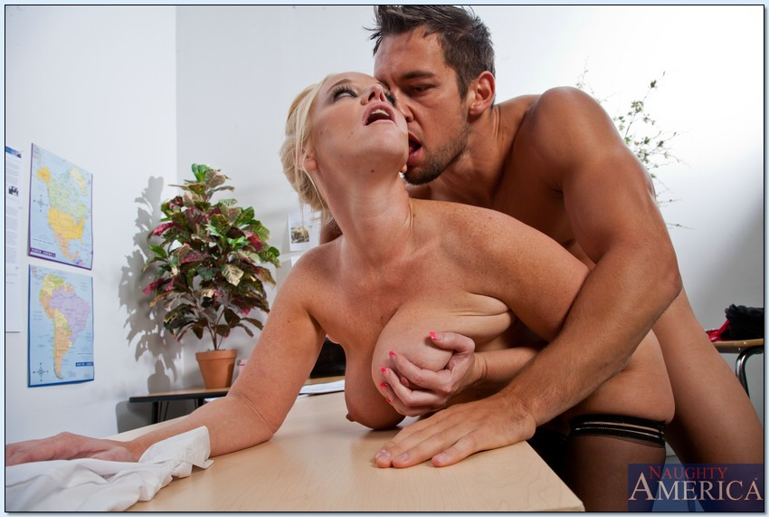 Porn blonde chemistry teacher