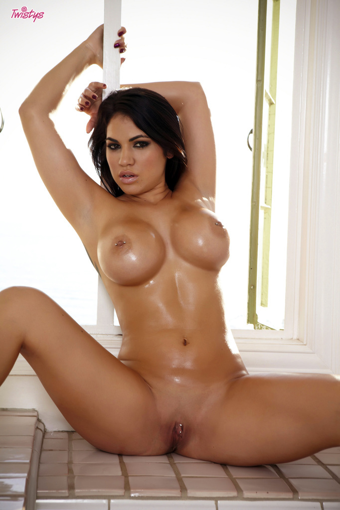 Big busty boobs latina
