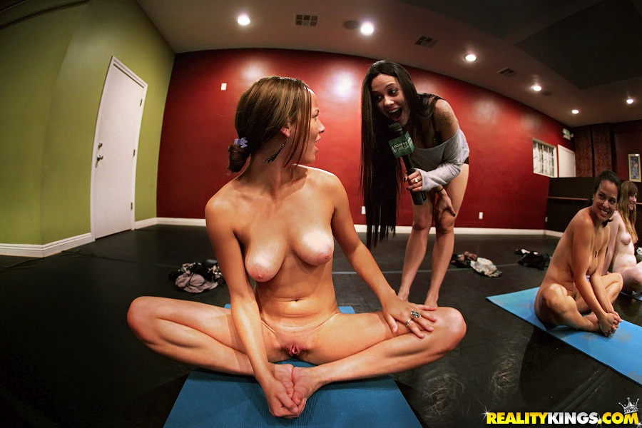 Will not naked yoga class women nude think