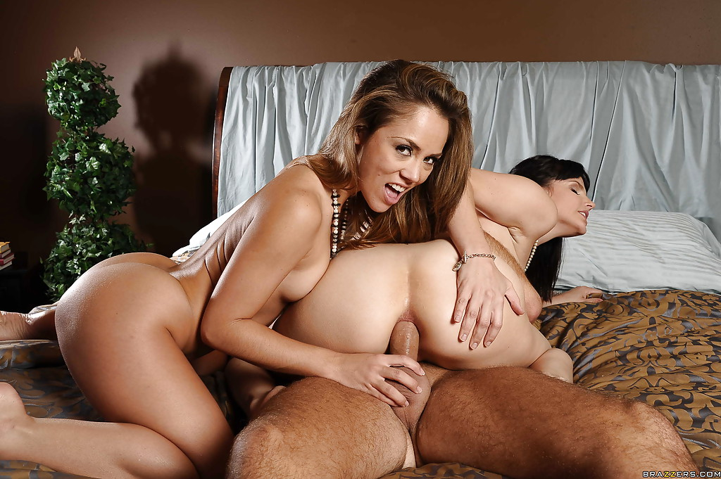 Bobbi starr anal threesome