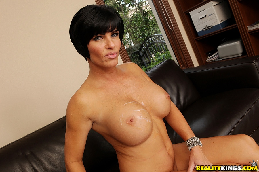 Images - Busty short haired milf gets proper fucked