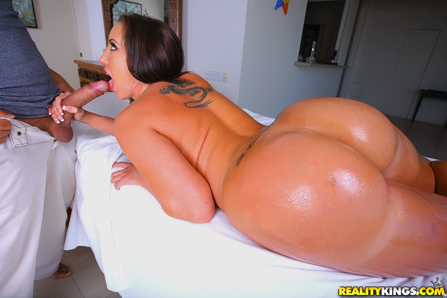 ass massage porn Big