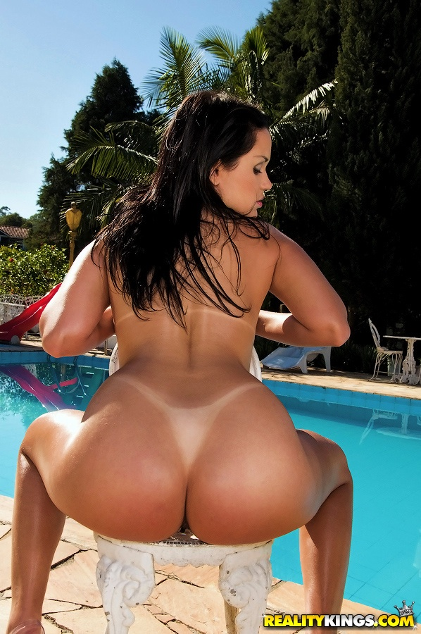 Brazilian milf bubble butt