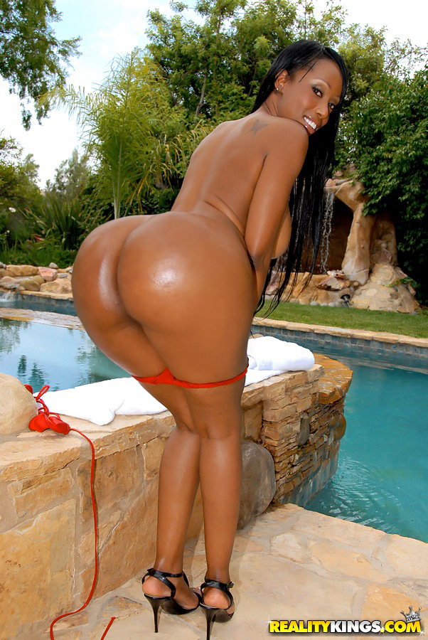 hot black pornstars in bikinis