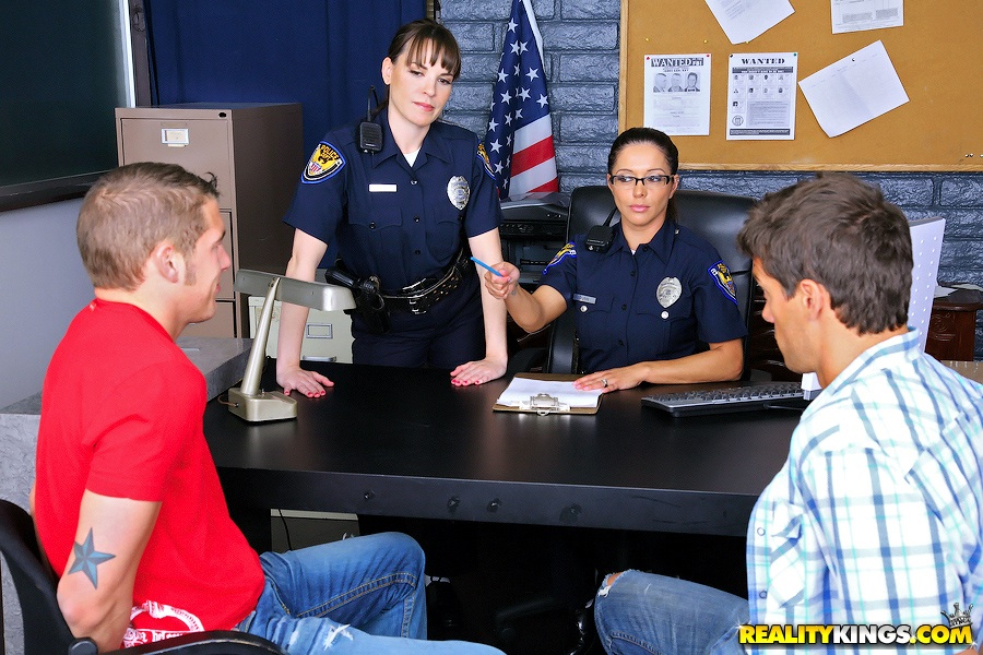 For Real female cops cfnm assured, that