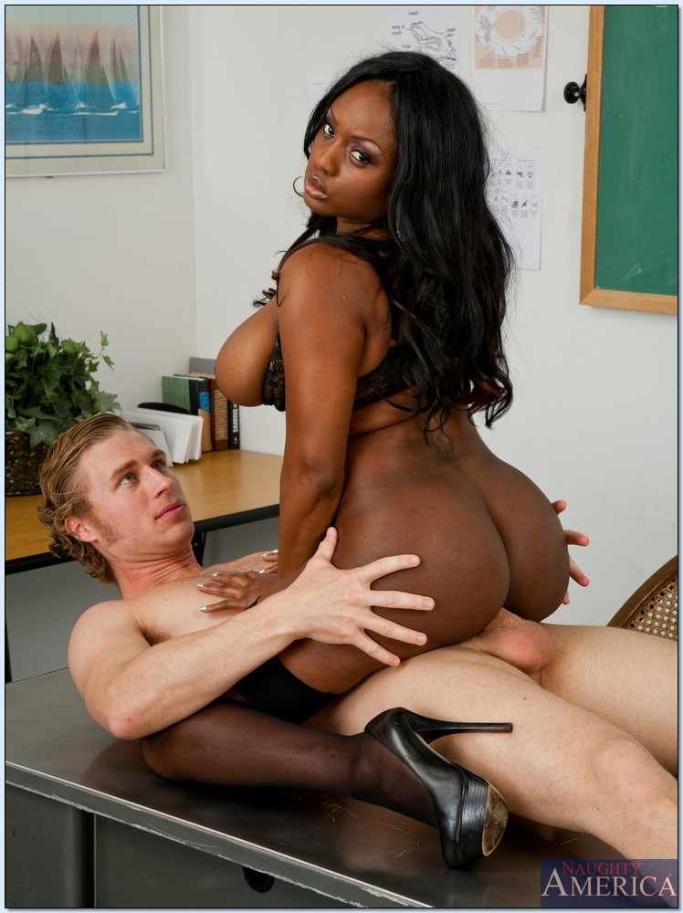 Black teacher fucking student